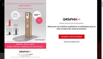 Site internet de Graphi K