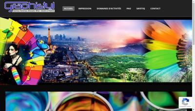 Site internet de Atelier Graphistyl