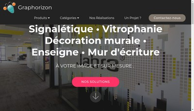 Site internet de Graphorizon