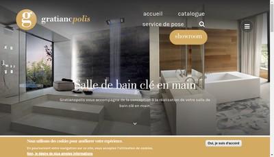 Site internet de Gratianopolis