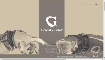 Site internet de Gravitylinks