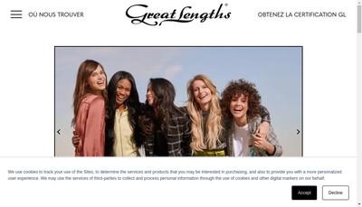 Site internet de Great Lengths France