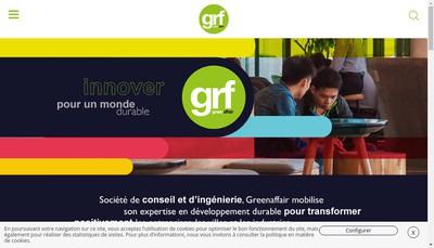 Site internet de Greenaffair