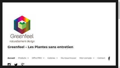 Site internet de Gep Design
