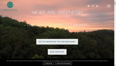 Site internet de Greenfish France