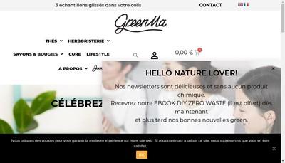 Site internet de Greenma