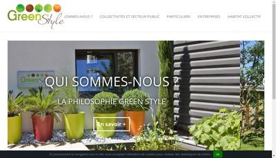 Site internet de Green Style