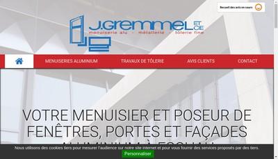 Site internet de J Gremmel et Compagnie
