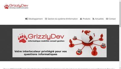 Site internet de Grizzlydev