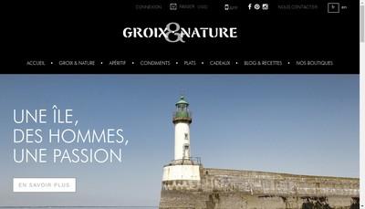 Site internet de Conserverie Fumoir de l'Ile de Groix