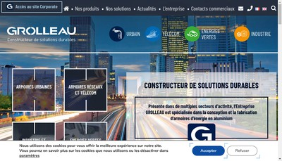 Site internet de Grolleau