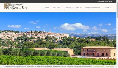 Site internet de EARL Domaine du Gros Nore