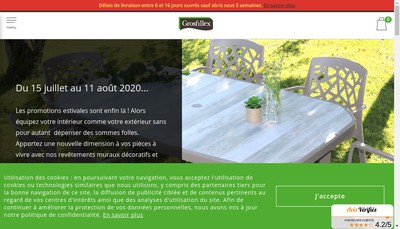 Site internet de Grosfillex Fenetres