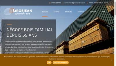 Site internet de Bois Contreplaques Industries