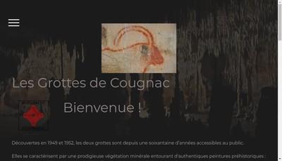 Site internet de Grottes de Cougnac