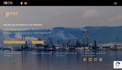 Site internet de Cva Europe Holding