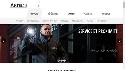Site internet de Artemis Security