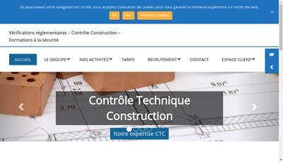 Site internet de Ctp Groupe Cadet