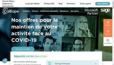 Site internet de Groupe Diagonal'