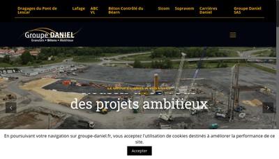 Site internet de Carrieres Daniel