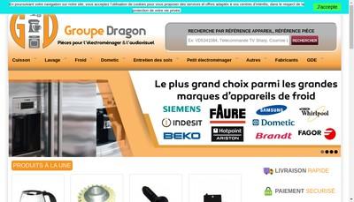 Site internet de Groupe Dragon
