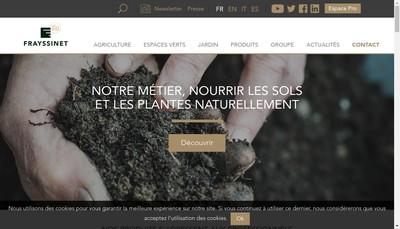 Site internet de Groupe Frayssinet