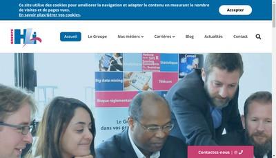 Site internet de Hli Consultants