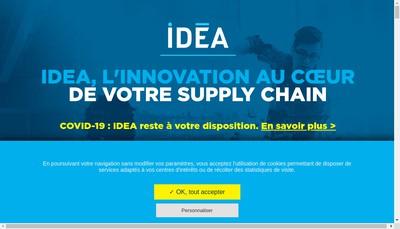 Site internet de Idea Groupe