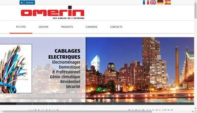 Site internet de Omerin Div Silisol & Div Principale