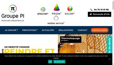Site internet de Solyap