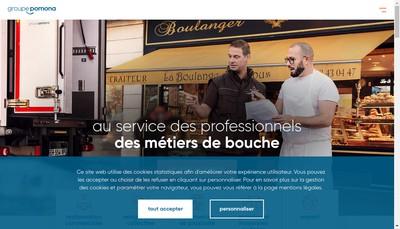 Site internet de Pomona Innovation Investissement