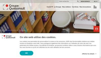 Site internet de Qualiconsult