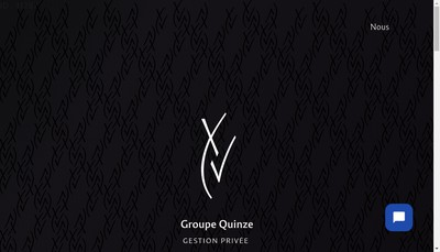 Site internet de Groupe Quinze Gestion Privee