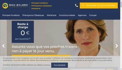 Site internet de Ruby Funeraire