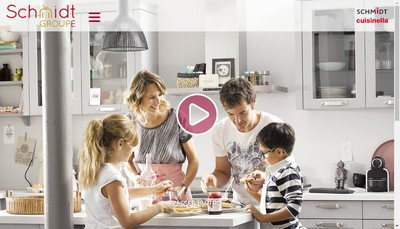 Site internet de Schmidt Groupe