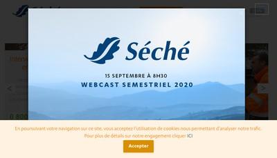 Site internet de Seche Alliance