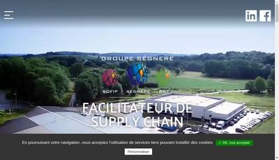 Site internet de Segnere SAS
