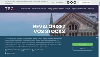 Site internet de Nom Marques Tec Media Tec Corporate