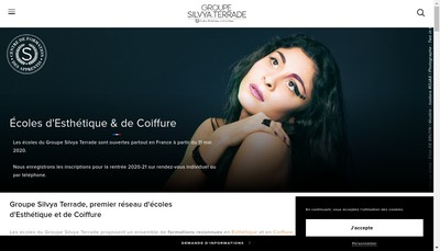 Site internet de Silvya Terrade Brive