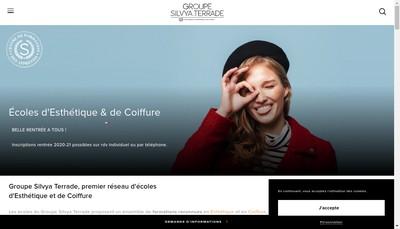 Site internet de Silvya Terrade Lyon
