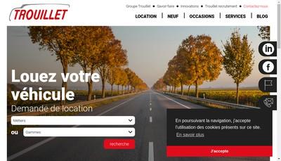Site internet de Groupe Trouillet