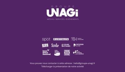 Site internet de Unagi Lyon