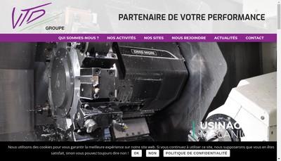 Site internet de Industrie France Eprouvettes