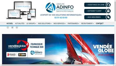 Site internet de Adinfo