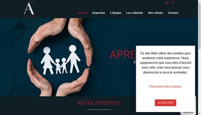 Site internet de SARL Aprem Conseil