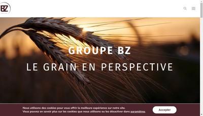 Site internet de Bz Collecte