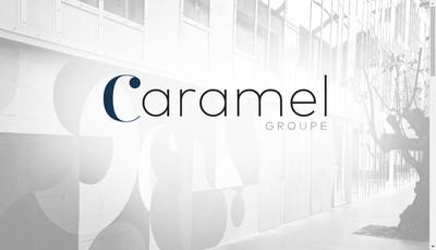 Site internet de Groupe Caramel