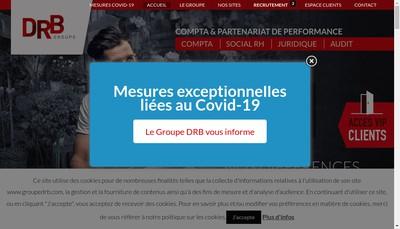 Site internet de Groupe DRB