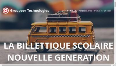 Site internet de Groupeer Technologies