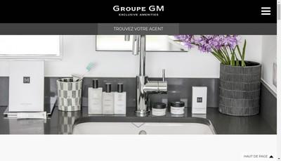 Site internet de Groupe Gm France
